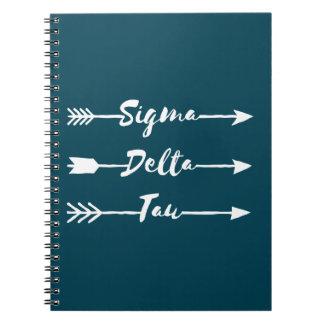 Sigma Delta Tau | Arrow Notebook