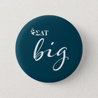 Sigma Delta Tau | Big Script 6 Cm Round Badge