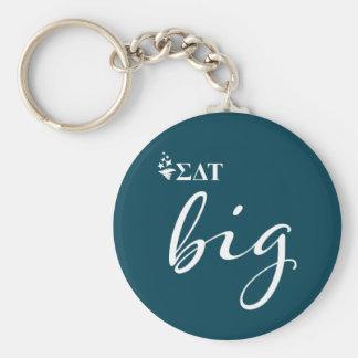 Sigma Delta Tau | Big Script Key Ring