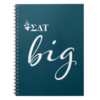 Sigma Delta Tau | Big Script Notebook