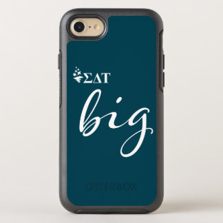Sigma Delta Tau | Big Script OtterBox Symmetry iPhone 8/7 Case