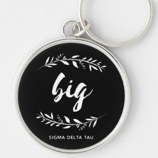 Sigma Delta Tau | Big Wreath Key Ring