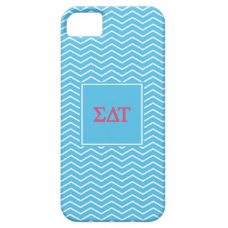 Sigma Delta Tau | Chevron Pattern Barely There iPhone 5 Case