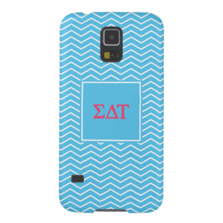 Sigma Delta Tau | Chevron Pattern Case For Galaxy S5