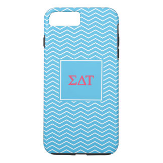 Sigma Delta Tau | Chevron Pattern iPhone 8 Plus/7 Plus Case