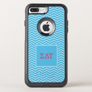 Sigma Delta Tau | Chevron Pattern OtterBox Commuter iPhone 7 Plus Case
