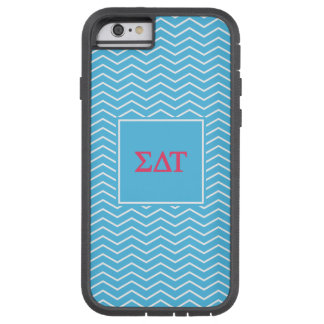 Sigma Delta Tau | Chevron Pattern Tough Xtreme iPhone 6 Case