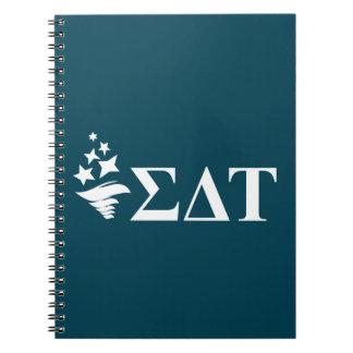 Sigma Delta Tau | Lil Big Logo Notebook