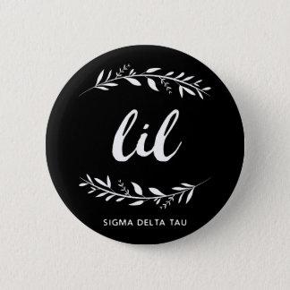 Sigma Delta Tau | Lil Wreath 6 Cm Round Badge