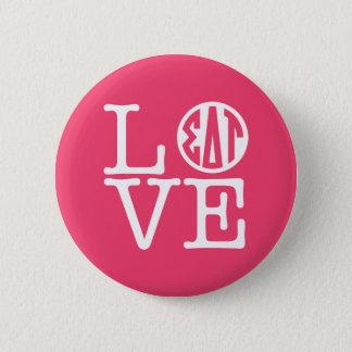 Sigma Delta Tau | Love 6 Cm Round Badge