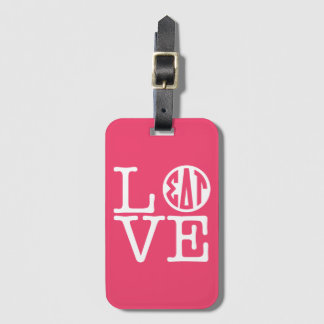 Sigma Delta Tau | Love Luggage Tag