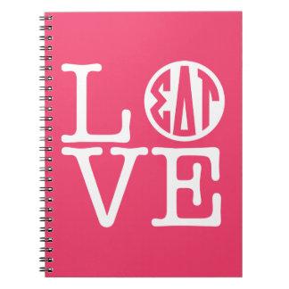 Sigma Delta Tau | Love Notebook