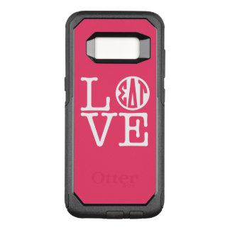 Sigma Delta Tau | Love OtterBox Commuter Samsung Galaxy S8 Case
