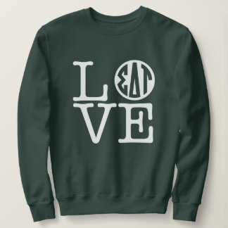Sigma Delta Tau | Love Sweatshirt