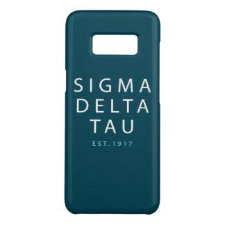 Sigma Delta Tau | Modern Type Case-Mate Samsung Galaxy S8 Case