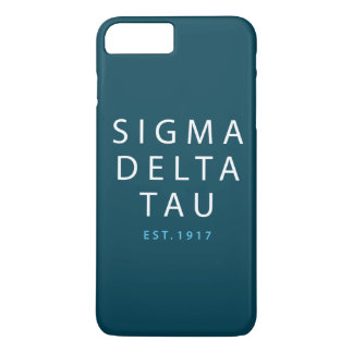Sigma Delta Tau | Modern Type iPhone 8 Plus/7 Plus Case