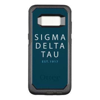 Sigma Delta Tau | Modern Type OtterBox Commuter Samsung Galaxy S8 Case
