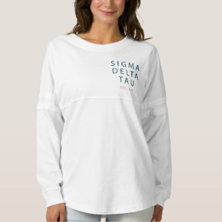 Sigma Delta Tau | Modern Type Spirit Jersey
