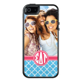 Sigma Delta Tau | Monogram and Photo OtterBox iPhone 5/5s/SE Case