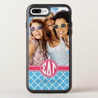 Sigma Delta Tau   Monogram and Photo OtterBox Symmetry iPhone 8 Plus/7 Plus Case