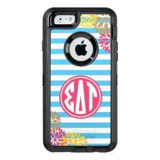 Sigma Delta Tau | Monogram Stripe Pattern OtterBox iPhone 6/6s Case