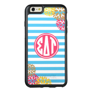 Sigma Delta Tau | Monogram Stripe Pattern OtterBox iPhone 6/6s Plus Case