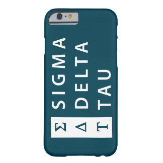 Sigma Delta Tau | Stacked Barely There iPhone 6 Case