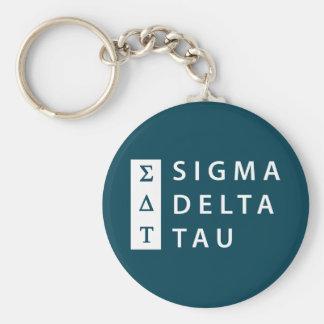 Sigma Delta Tau | Stacked Key Ring