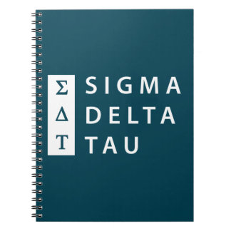 Sigma Delta Tau | Stacked Notebook