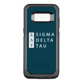 Sigma Delta Tau | Stacked OtterBox Commuter Samsung Galaxy S8 Case