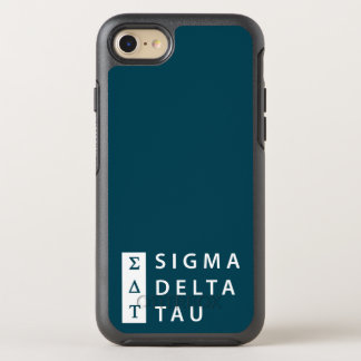 Sigma Delta Tau | Stacked OtterBox Symmetry iPhone 8/7 Case