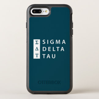 Sigma Delta Tau | Stacked OtterBox Symmetry iPhone 8 Plus/7 Plus Case