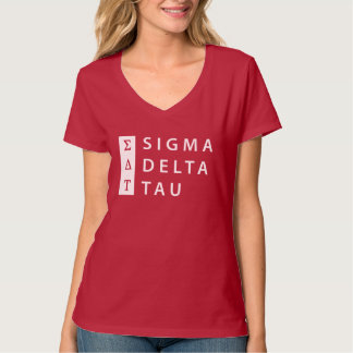 Sigma Delta Tau | Stacked T-Shirt
