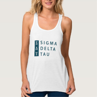 Sigma Delta Tau | Stacked Tank Top
