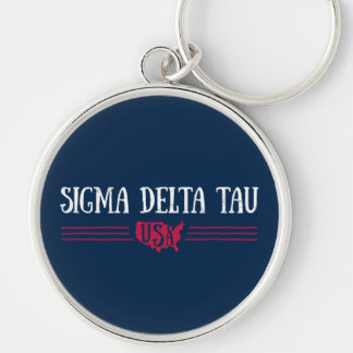 Sigma Delta Tau | USA Key Ring