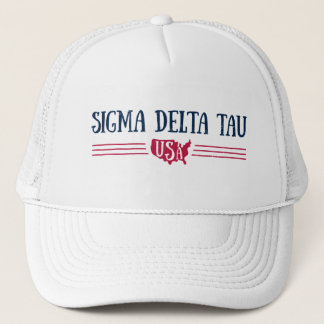 Sigma Delta Tau | USA Trucker Hat