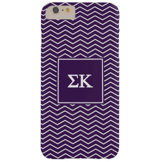 Sigma Kappa | Chevron Pattern Barely There iPhone 6 Plus Case