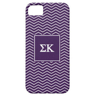 Sigma Kappa | Chevron Pattern Case For The iPhone 5
