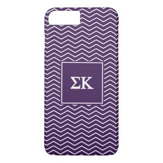 Sigma Kappa   Chevron Pattern iPhone 7 Plus Case