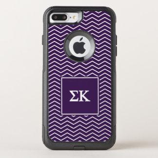Sigma Kappa | Chevron Pattern OtterBox Commuter iPhone 7 Plus Case