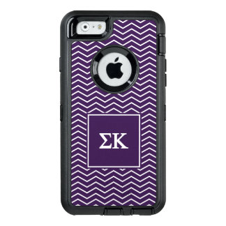Sigma Kappa | Chevron Pattern OtterBox Defender iPhone Case