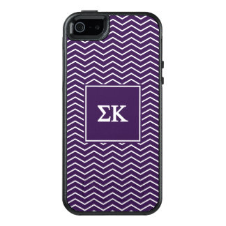 Sigma Kappa   Chevron Pattern OtterBox iPhone 5/5s/SE Case