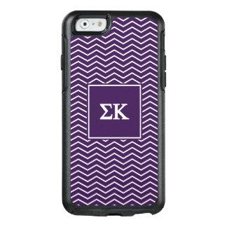 Sigma Kappa   Chevron Pattern OtterBox iPhone 6/6s Case