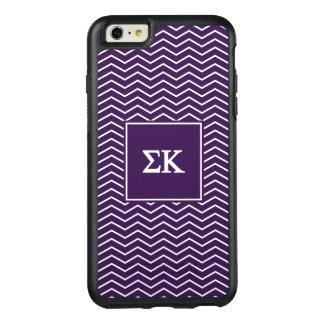 Sigma Kappa | Chevron Pattern OtterBox iPhone 6/6s Plus Case