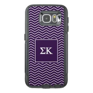 Sigma Kappa | Chevron Pattern OtterBox Samsung Galaxy S6 Case