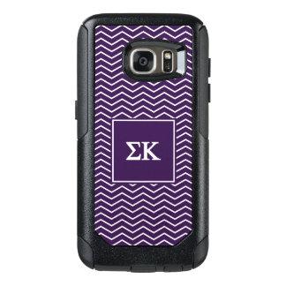 Sigma Kappa | Chevron Pattern OtterBox Samsung Galaxy S7 Case