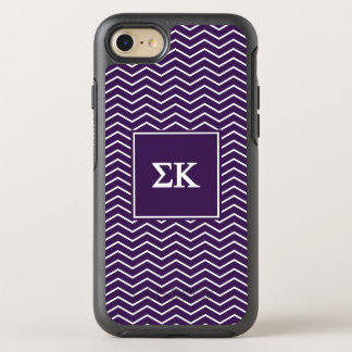 Sigma Kappa | Chevron Pattern OtterBox Symmetry iPhone 7 Case