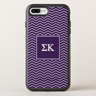 Sigma Kappa | Chevron Pattern OtterBox Symmetry iPhone 7 Plus Case