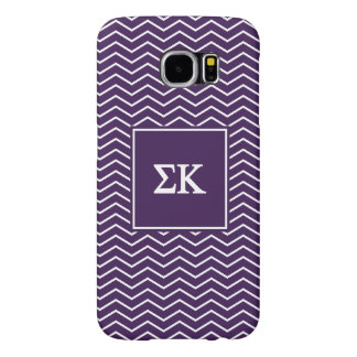 Sigma Kappa | Chevron Pattern Samsung Galaxy S6 Cases