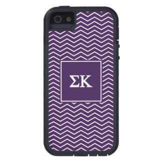 Sigma Kappa   Chevron Pattern Tough Xtreme iPhone 5 Case